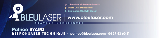 Bleu Laser Lug Cinéma